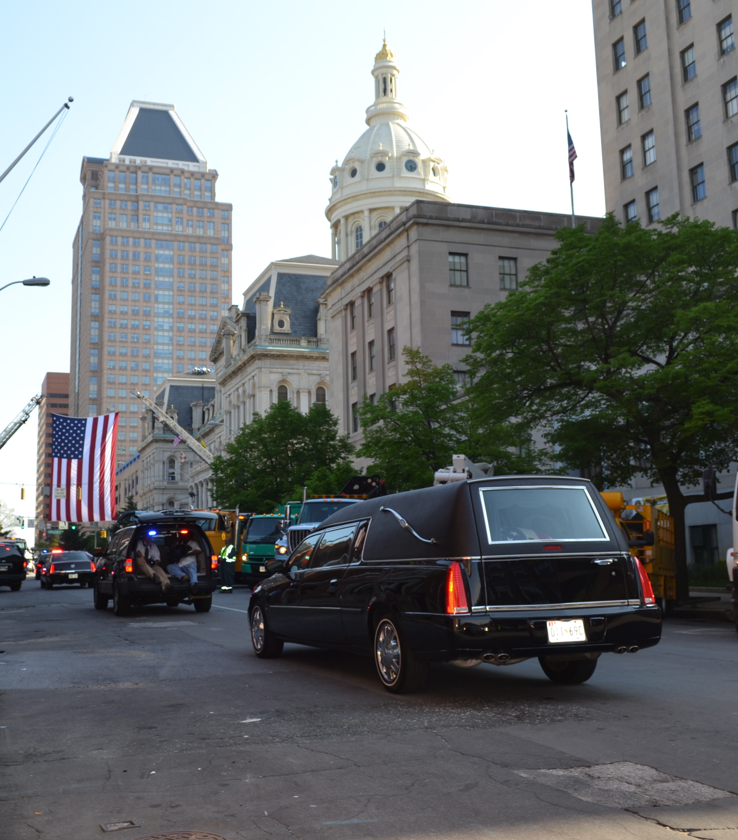 William Donald Schaefer Funeral | Baltimore Wire Service